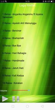 Lagu RAISA Lengkap apk screenshot