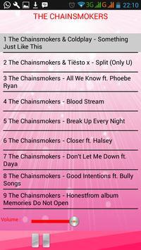Lagu THE CHAINSMOKERS apk screenshot