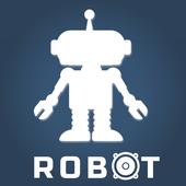 Robotic sound icon