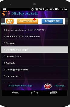 NICKY ASTRIA Full MP3 apk screenshot
