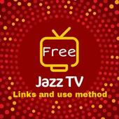Jazz free TV links and use method free jazz TV for Android