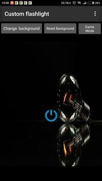 Custom Flashlight poster