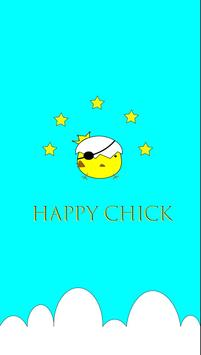 Happy Chick tutorial guide poster