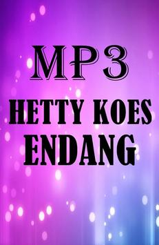 MP3 Hetty Koes Endang Terlaris lengkap poster