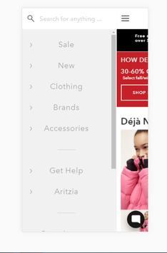 ARITZIA screenshot 1