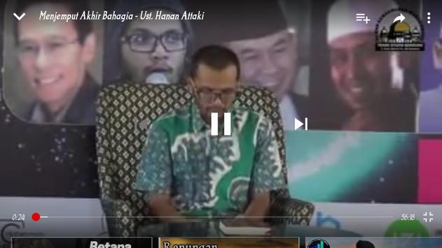 ceramah ustadz Hanan Attaki Lc screenshot 14