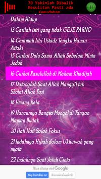 ceramah ustadz Hanan Attaki Lc screenshot 5