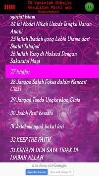 ceramah ustadz Hanan Attaki Lc screenshot 6