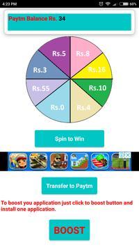 Spin and Win Paytm-Kingo screenshot 1