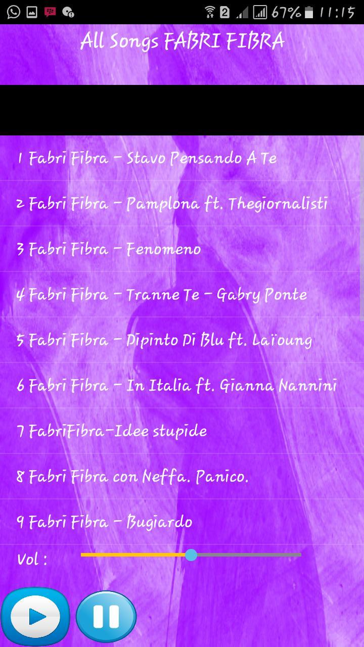 TÉLÉCHARGER FABRI FIBRA BUGIARDO MP3 GRATUIT