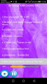KIM CHUNG HA SONGS screenshot 2