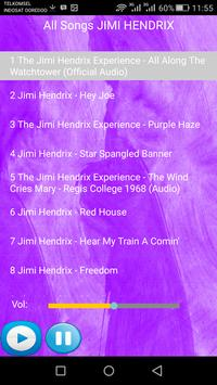 JIMI HENDRIX SONGS screenshot 1