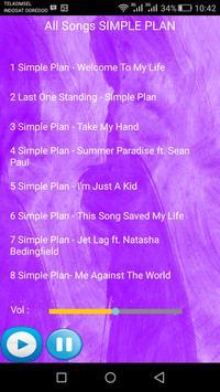 SIMPLE PLAN Songs apk screenshot