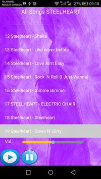 STEELHEART SONGS apk screenshot