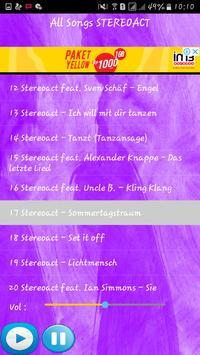 STEREOACT SONGS screenshot 2