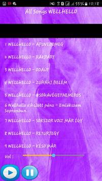 WELLHELLO SONGS screenshot 1