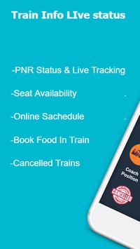Train info live status screenshot 1
