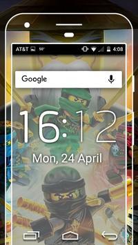 Characters NinjaGo HD Wallpaper Amoled screenshot 1