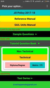 SAIL JO 2018 Preparation Guide screenshot 2