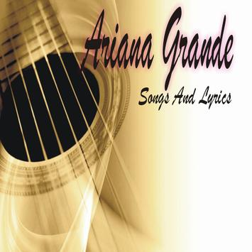 Ariana Grande Musica and Lyrics poster