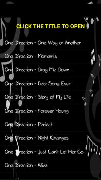 One Direction Music - One Way or Another screenshot 1