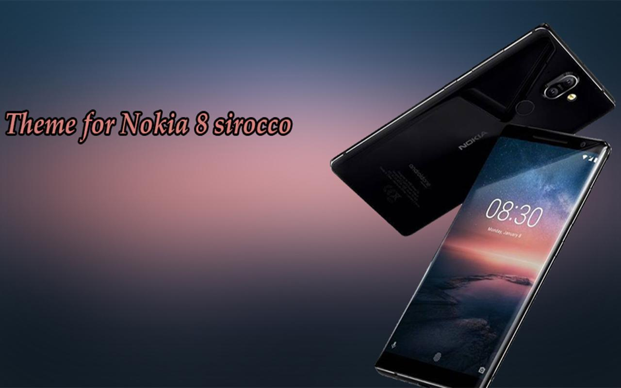 Theme For Nokia 8 Sirocco For Android Apk Download