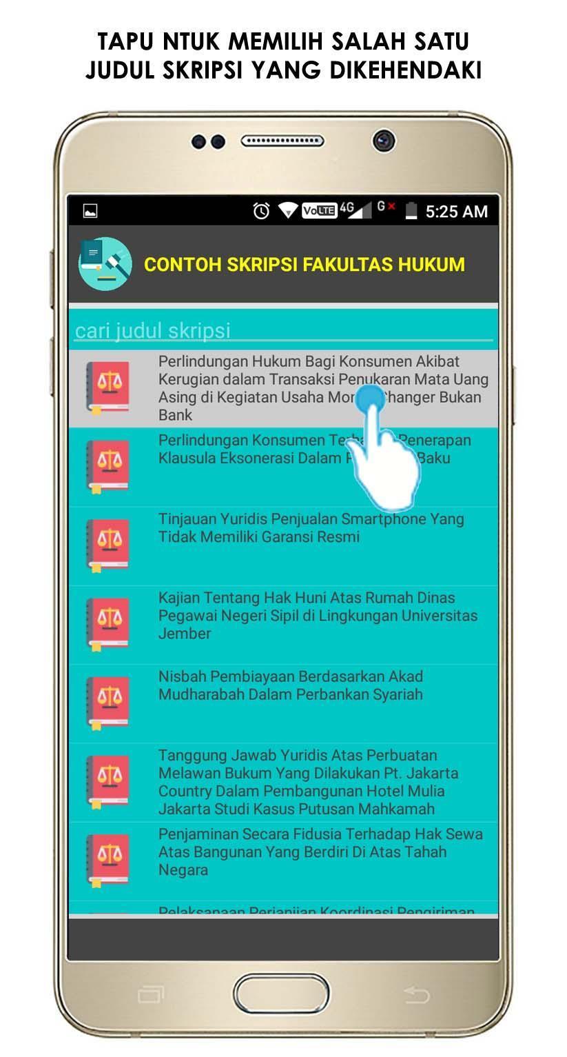 Contoh Skripsi Hukum For Android Apk Download