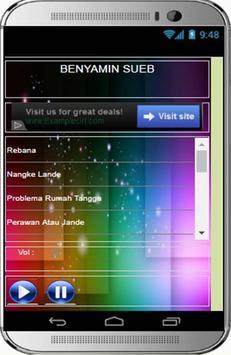 LAGU BENYAMIN SUEB LENGKAP screenshot 1