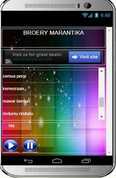 LAGU BROERY MARANTIKA LENGKAP screenshot 1
