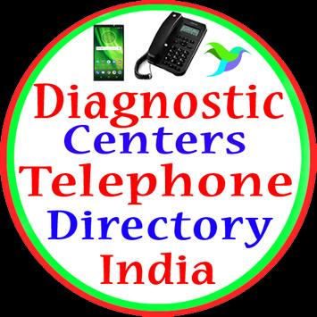 Diagnostic Centers Telephone Directory in india poster