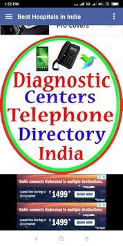 Diagnostic Centers Telephone Directory in india screenshot 2