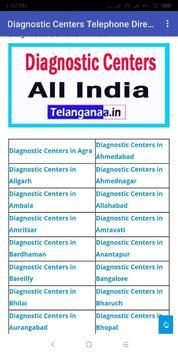 Diagnostic Centers Telephone Directory in india screenshot 3