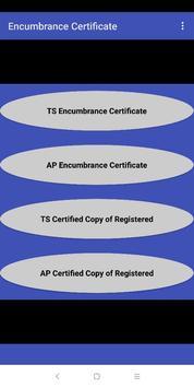 Encumbrance Certificate EC - CC Copy (TS-AP State) screenshot 3