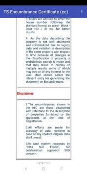 Encumbrance Certificate EC - CC Copy (TS-AP State) screenshot 4