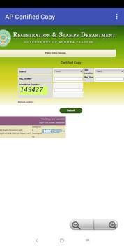 Encumbrance Certificate EC - CC Copy (TS-AP State) screenshot 5