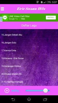 Lagu Dangdut ERIE SUZAN apk screenshot