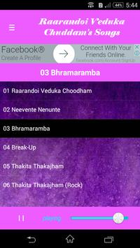 Raarandoi Veduka Chuddam Songs apk screenshot