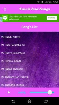 TAMIL SAD SONGS apk screenshot