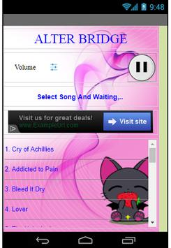 Alter Bridge apk screenshot