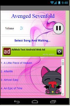 Avenged Sevenfold apk screenshot