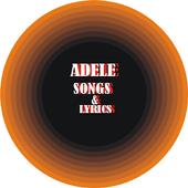 Adele songs with lyrics icon