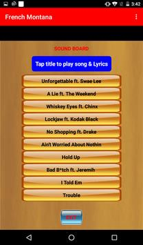 Unforgettable - French Montana apk screenshot