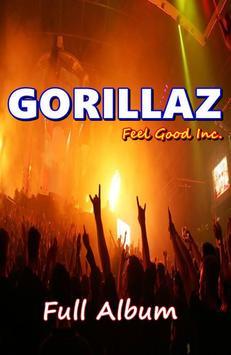 Feel Good Inc - GORILLAZ ALL Song poster