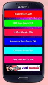 INDIA ALL BOARD RESULT 2018 poster