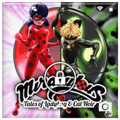 Miraculous Ladybug & Cat Noir Super Oled Wallpaper icon