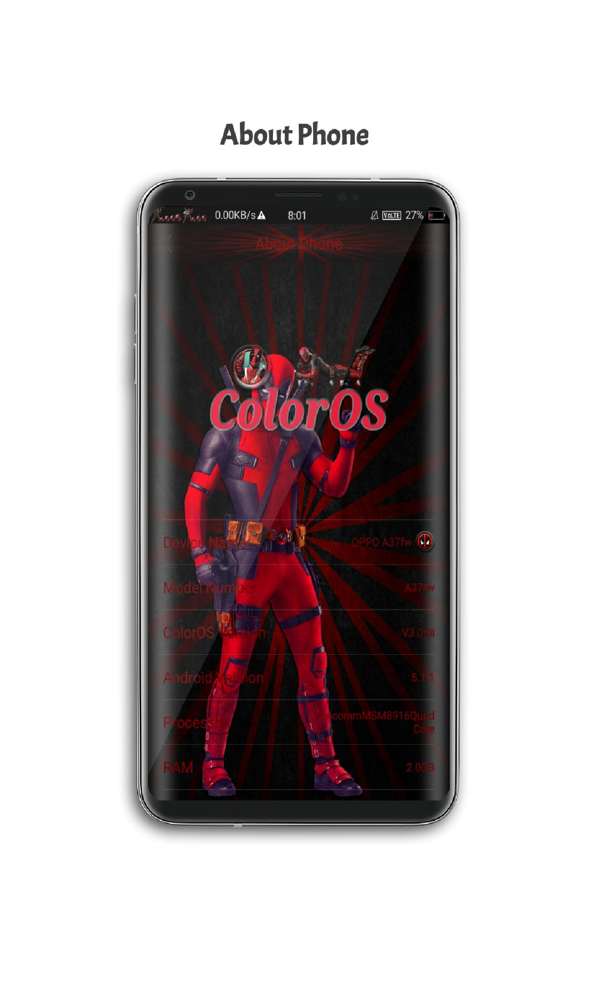 OPPO A37 - DeadPool 2 Theme for Android - APK Download