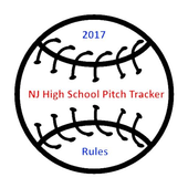 NJ HS Baseball Pitch Rule Calc icon