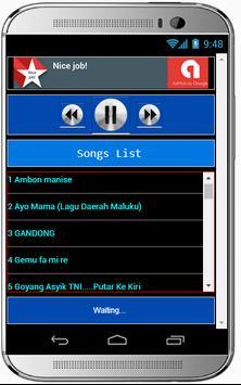 Lagu AMBON MANISE Terbaru screenshot 2