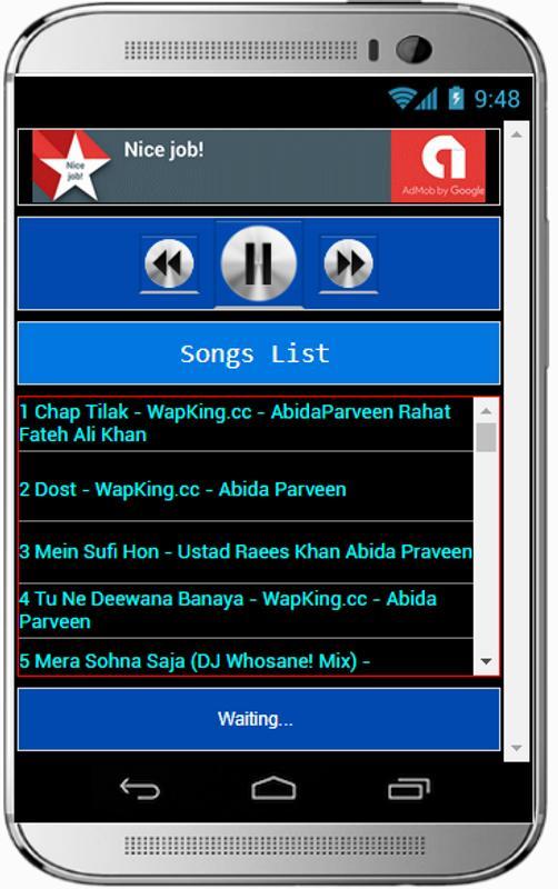 Hit Songs ABIDA PARVEEN Poster Screenshot 1