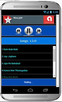 Hit Songs BAHUBALI 2 apk screenshot